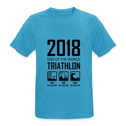 2018 Triathlon - mannen T-shirt ademend