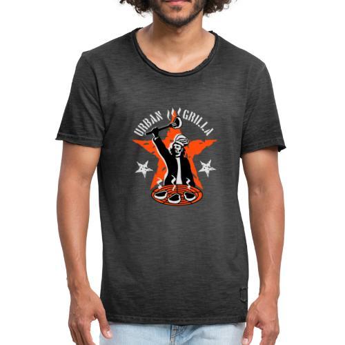 Urban Grilla, barbecue chef / cook - Men's Vintage T-Shirt