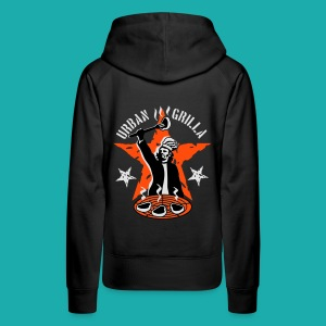 Urban Grilla, barbecue chef / cook - Women's Premium Hoodie
