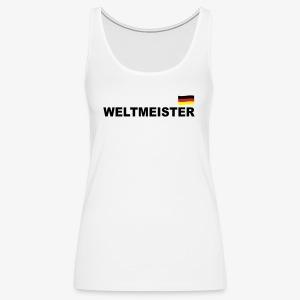 Fussball Weltmeister Germany Fahne Deutschland Sport T-Shirt - Frauen Premium Tank Top
