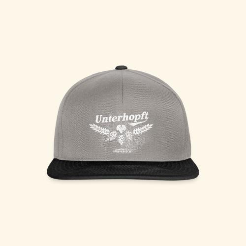 Unterhopft T-Shirt, distressed - Snapback Cap