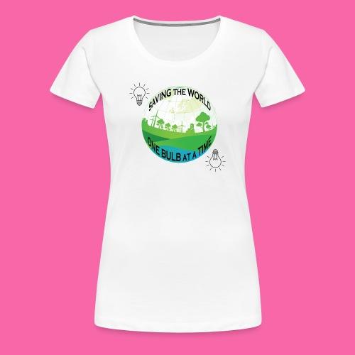 Saving the World - Women's Premium T-Shirt