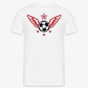 FUSSBALL 4 Sterne Fußball Deutschland Männer Trikot - Männer T-Shirt
