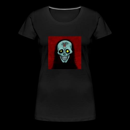 Ghosr skull - Women's Premium T-Shirt