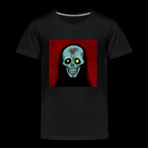 Ghosr skull - Kids' Premium T-Shirt