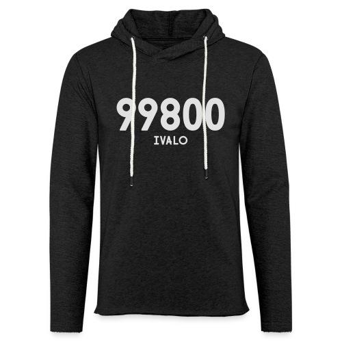 99800 IVALO - Kevyt unisex-huppari