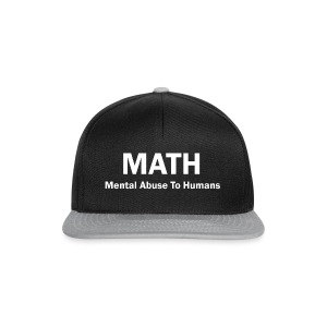 MATH Mental Abuse To Humans - Snapback Cap