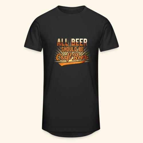 All beer should be craft beer - Männer Urban Longshirt