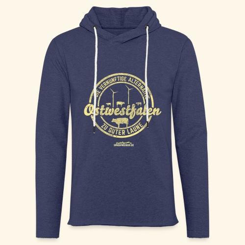 lustiges Sprüche-Shirt Ostwestfalen - Leichtes Kapuzensweatshirt Unisex