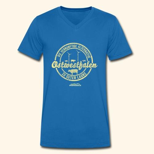 lustiges Sprüche-Shirt Ostwestfalen - Männer Bio-T-Shirt mit V-Ausschnitt von Stanley & Stella