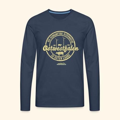 lustiges Sprüche-Shirt Ostwestfalen - Männer Premium Langarmshirt