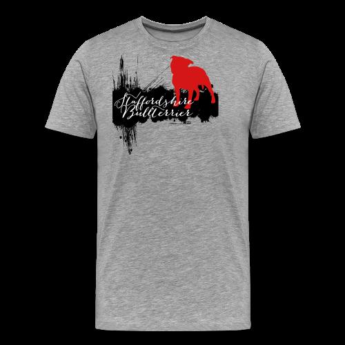 Staffordshire Bullterrier Shirt - Männer Premium T-Shirt