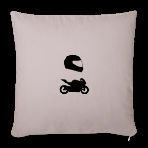 Rennmotorrad mit Helm