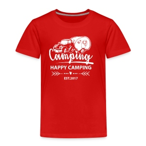 Happy Camping EST.2017 - TEEN T-Shirt - Kinder Premium T-Shirt