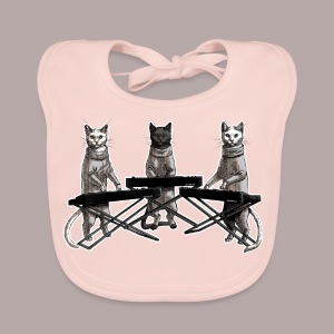 Cat Band dark tee