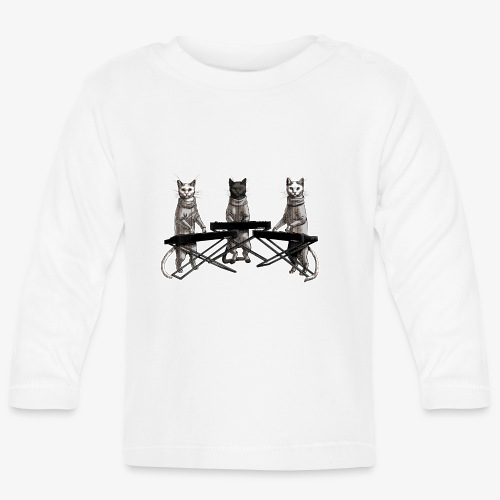 Cat Band - Baby Long Sleeve T-Shirt