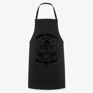 Eimer für alle Malle Spruch Skull Totenkopf T-Shirt 34 - Kochschürze