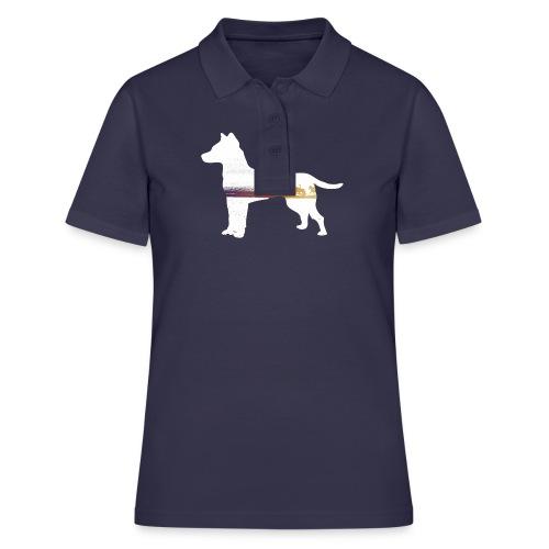 Hund-Ausritt - Frauen Polo Shirt