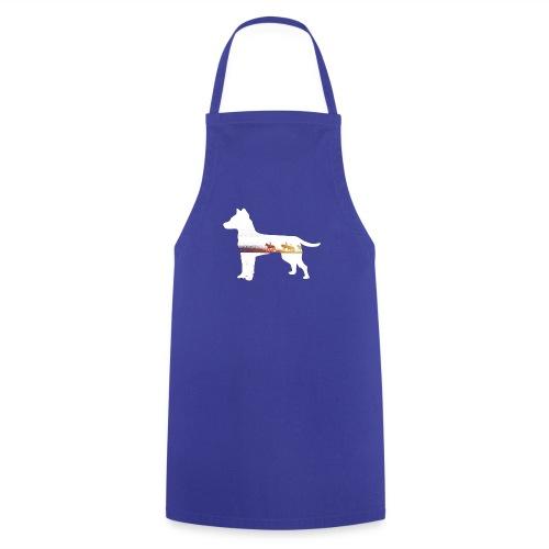 Hund-Ausritt - Kochschürze