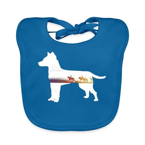 Hund-Ausritt - Baby Bio-Lätzchen