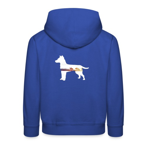 Hund-Ausritt - Kinder Premium Hoodie