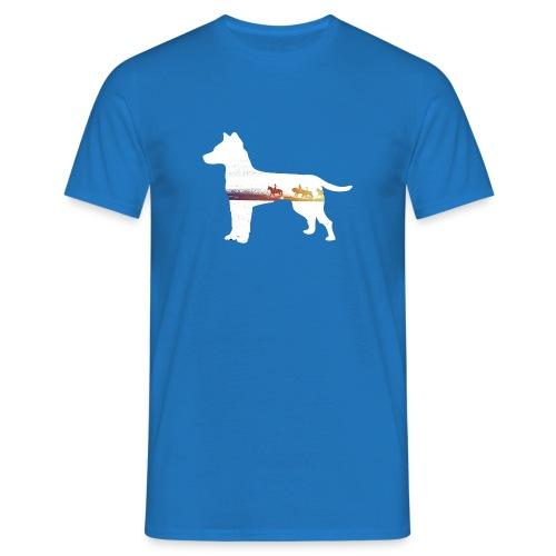 Hund-Ausritt - Männer T-Shirt