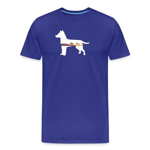 Hund-Ausritt - Männer Premium T-Shirt