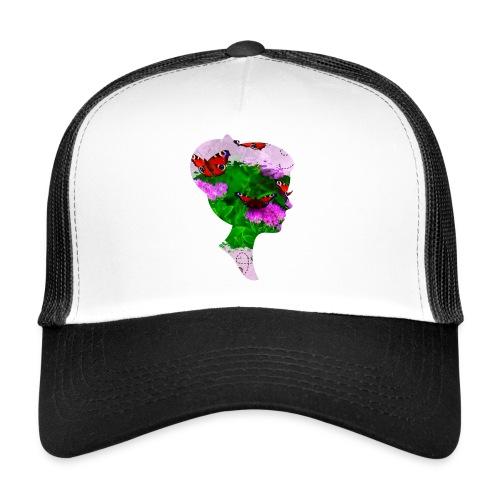 Schmetterling-Dame - Trucker Cap