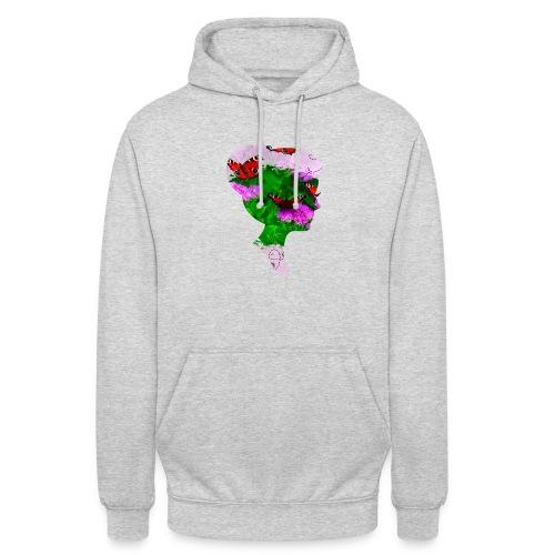 Schmetterling-Dame - Unisex Hoodie
