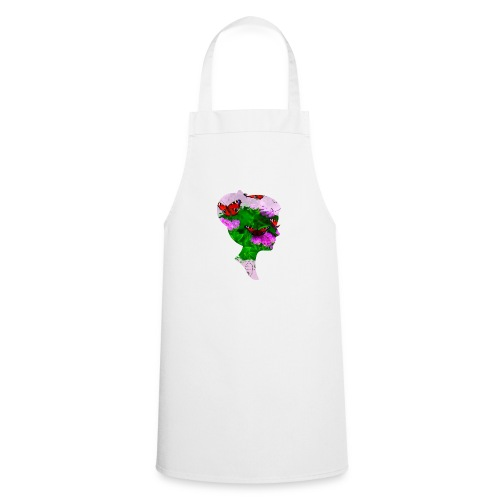 Schmetterling-Dame - Kochschürze