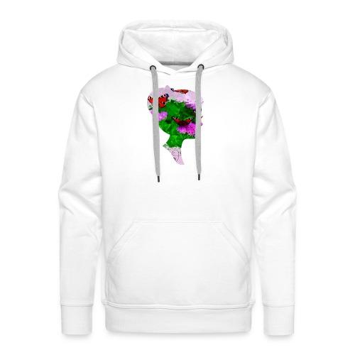 Schmetterling-Dame - Männer Premium Hoodie