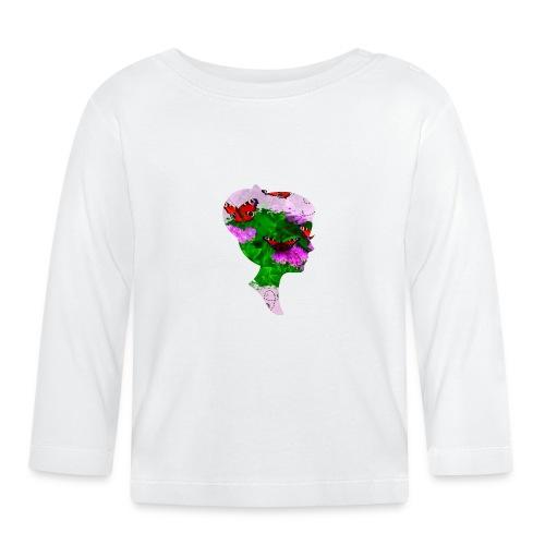 Schmetterling-Dame - Baby Langarmshirt