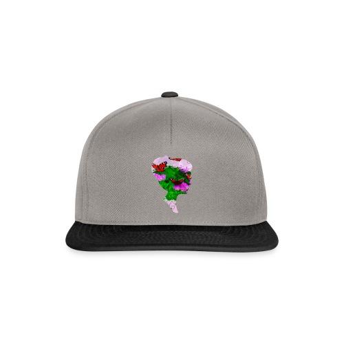 Schmetterling-Dame - Snapback Cap