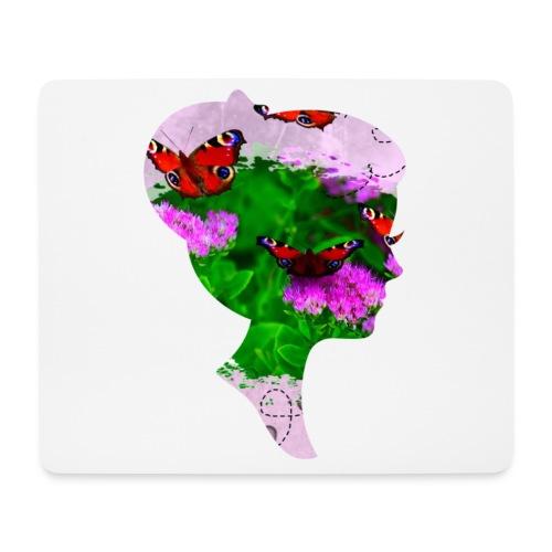 Schmetterling-Dame - Mousepad (Querformat)
