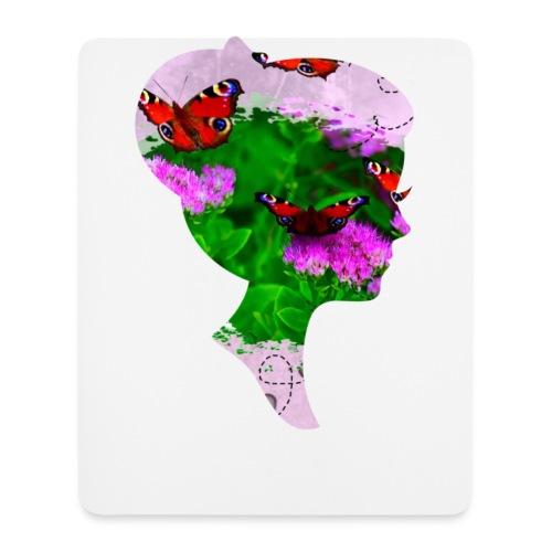 Schmetterling Dame - Mousepad (Hochformat)