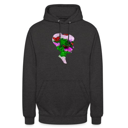 Schmetterling Dame - Unisex Hoodie