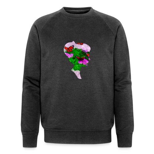 Schmetterling Dame - Männer Bio-Sweatshirt von Stanley & Stella