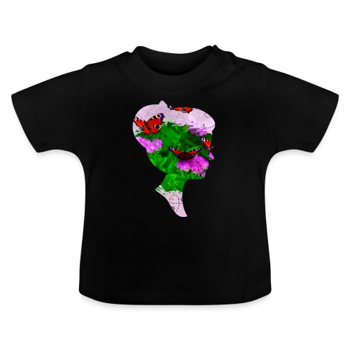 Schmetterling Dame - Baby T-Shirt