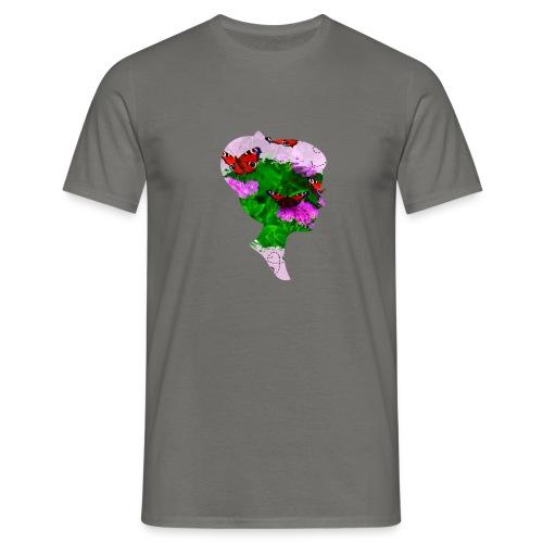 Schmetterling Dame - Männer T-Shirt