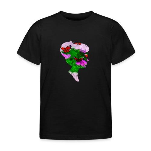 Schmetterling Dame - Kinder T-Shirt