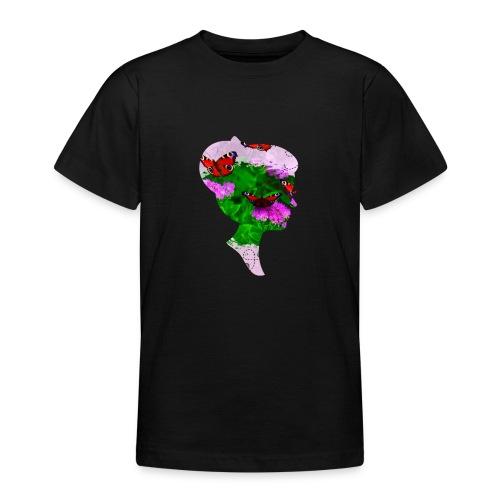 Schmetterling Dame - Teenager T-Shirt