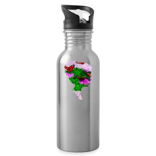 Schmetterling Dame - Trinkflasche