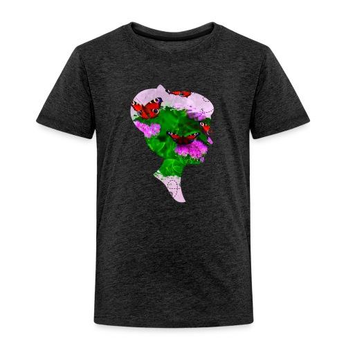 Schmetterling Dame - Kinder Premium T-Shirt