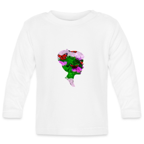 Schmetterling Dame - Baby Langarmshirt