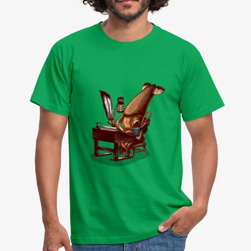 Squid Writer - Men's T-Shirt