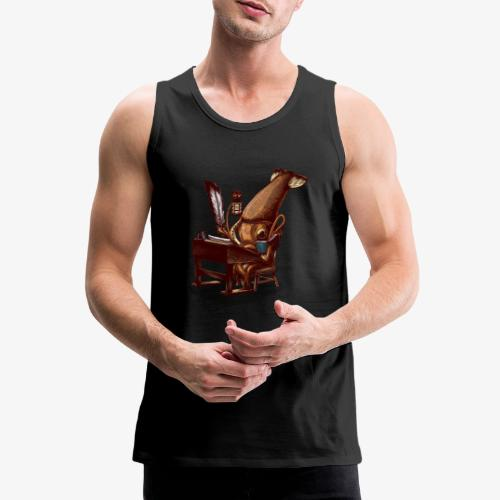 Squid Writer - Men's Premium Tank Top