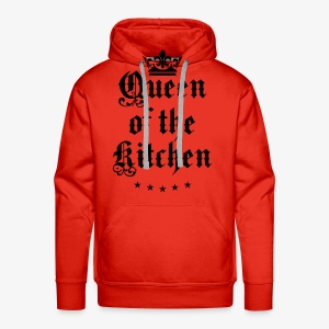 Queen of the Kitchen Cook Star Krone Crown Schürze 06 - Männer Premium Hoodie