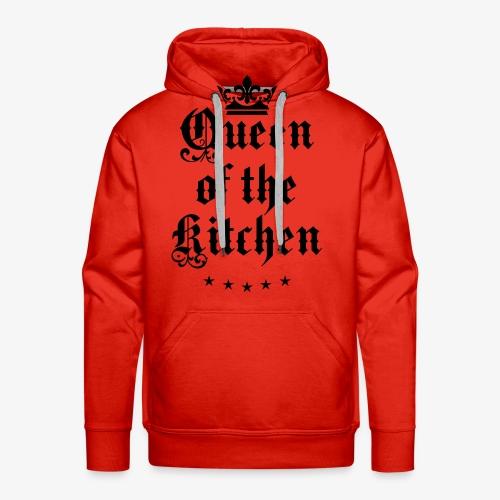 Queen of the Kitchen Cook Star Krone Crown Schürze 06 - Männer Premium Hoodie