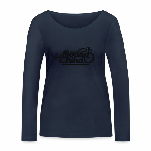 Moped Kind / Mopedkind (V1.0) - Women's Organic Longsleeve Shirt by Stanley & Stella
