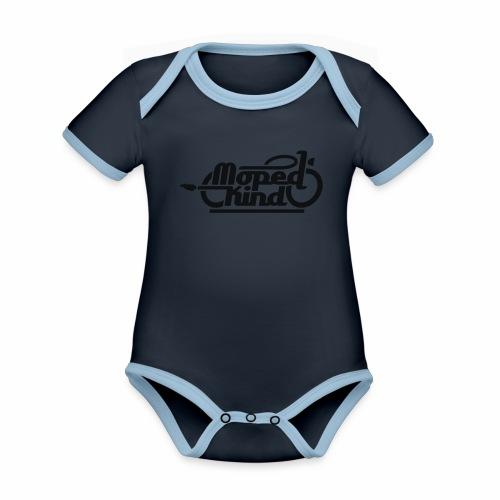 Moped Kind / Mopedkind (V1.0) - Organic Baby Contrasting Bodysuit